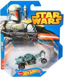 Star Wars Hot Wheels character cars Boba Fett