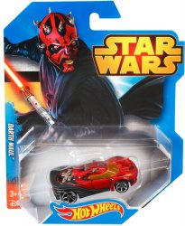 Star Wars Hot Wheels Character Cars Darth Maul 2014