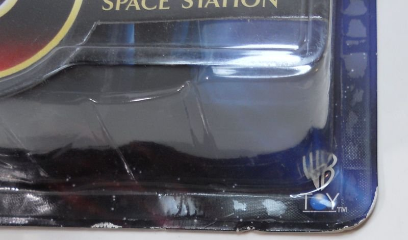 Babylon 5 action figure with Transport of Centauri Republic