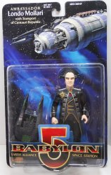 Babylon 5 Londo Mollari action figure w/ Transport of Centauri Republic