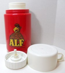 '.Alf lunch box w/ thermos.'