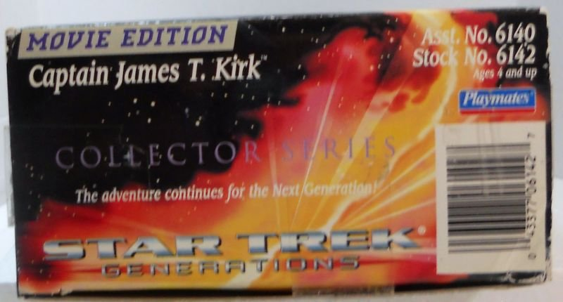 Star Trek, Generations Movie Edition Collector Series