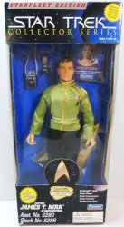 Star Trek Captain James T. Kirk Starfleet Edition Collector Series 9 in figure