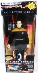 Star Trek Lieutenant Commander Data Movie Edition Collector Series 9 in figure