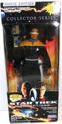 Star Trek Lieutenant Commander Geordi LaForge Movie Edition Collector Series