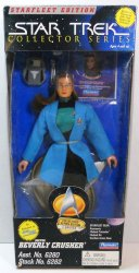 Star Trek Starfleet Edition Collector Series Dr Beverly Crusher 9 in figure