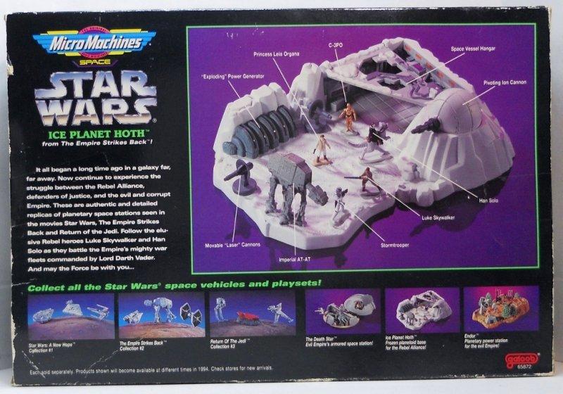 Star Wars Micro Machines Planet Dagobah Playset