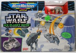Star Wars MicroMachines Ice Planet Hoth ESB play set