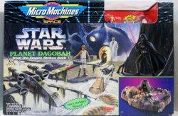 Star Wars Planet Dagobah MicroMachines Playset ESB 1994