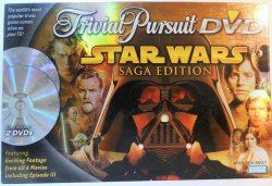 Star Wars Trivial Pursuit DVD Saga Edition board game 2005