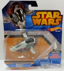 Hot Wheels Star Wars Slave I Boba Fett vehicle
