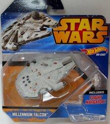 Hot Wheels Star Wars Starship Millennium Falcon Vehicle