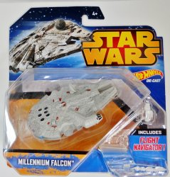 Hot Wheels Star Wars Millennium Falcon Vehicle spaceship 2015