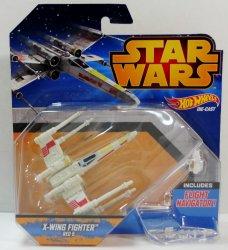 Hot Wheels Star Wars X-Wing Starfighter Red-5 Luke Skywalker vehicle
