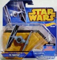 Hot Wheels Star Wars Tie Fighter ship vehicle
