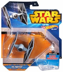 Hot Wheels Star Wars Tie Fighter ship vehicle 2015