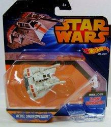 Hot Wheels Star Wars Rebel Snowspeeder vehicle