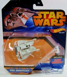 Hot Wheels Star Wars Rebel Snowspeeder vehicle 2015