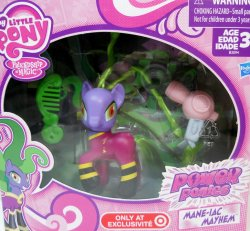 My Little Pony Mane-iac Mayhem Power Ponies exclusive