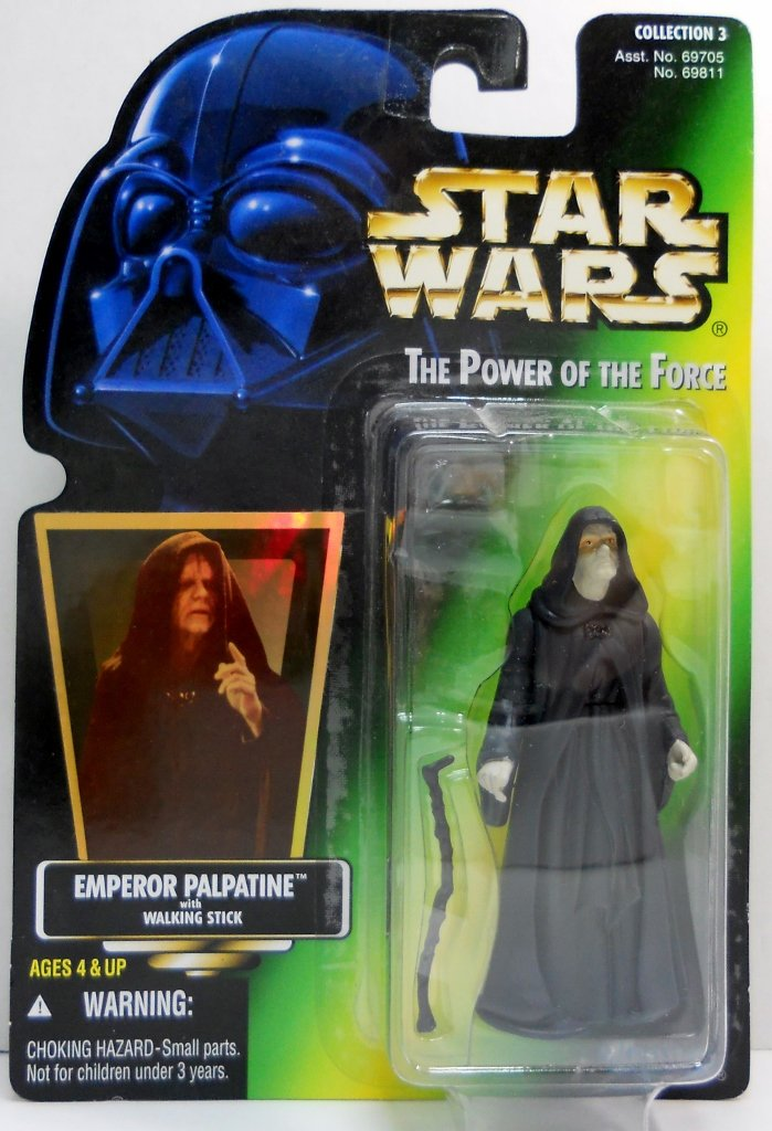Star Wars Power of the Force Emperor Palpatine 1996 figure