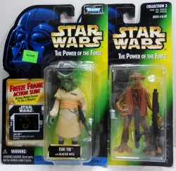 Star Wars Power of the Force Momaw Nadon and Ishi Tib figures