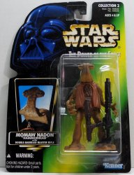 Star Wars Power of the Force Momaw Nadon green card figure