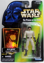 Star Wars Power of the Force Imperial AT-ST-Driver figure 1996
