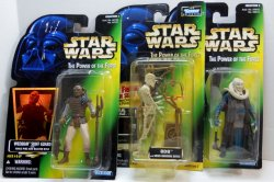 Star Wars Power of the Force Bib Fortuna, Weequay, and 8D8 figures