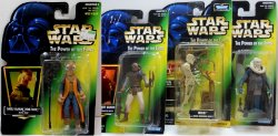 Star Wars POTF Bib Fortuna, Weequay, Saelt-Marae and 8D8 figures