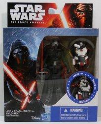 Star Wars The Force Awakens Snow Mission Armor Kylo Ren Figure
