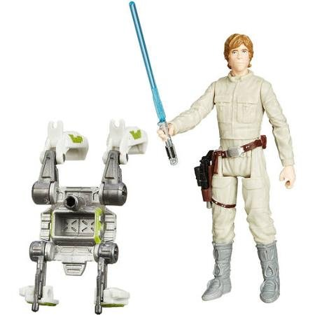 Star Wars Forest Mission Kylo Ren, Captain Phasma, Luke Skywalker figures