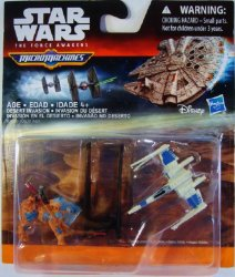 Star Wars The Force Awakens Micro Machines 3-Pack Desert Invasion