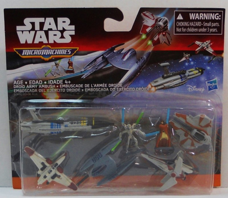 Star Wars Revenge of the Sith Micro Machines Deluxe Vehicle Pack
