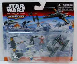 Star Wars The Force Awakens Micro Machines Deluxe Vehicle Pack Galactic Showdown