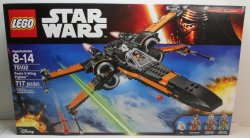 Lego Star Wars The Force Awakens Poe's X-Wing Fighter 75102