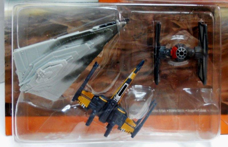 Star Wars The Force Awakens 3-Pack Micro Machines