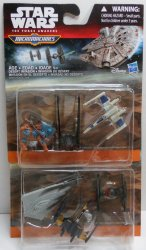 Star Wars The Force Awakens 3-Pack Micro Machines 2 sets