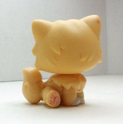 '.LPS Orange Persian Cat #490.'