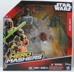 Star Wars Hero Mashers Boba Fett Figure 6 inches