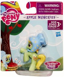 My Little Pony Apple Munchies Friendship is Magic Collection 2 inch pony