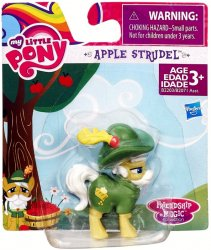 My Little Pony Apple Strudel Friendship is Magic Collection 2 inch green pony