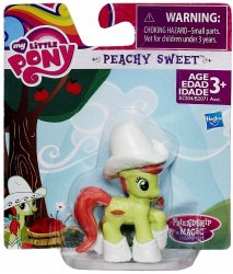 My Little Pony Peachy Sweet Friendship is Magic Collection 2 inch pony
