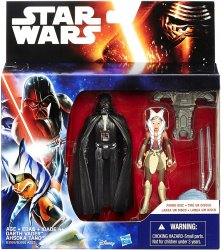 Star Wars Rebels Space Mission Darth Vader and Ahsoka Tano figure 2 pack
