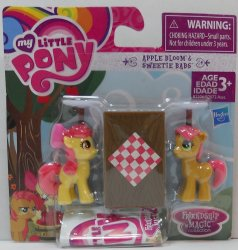 My Little Pony Apple Bloom & Sweetie Babs Friendship is Magic Collection