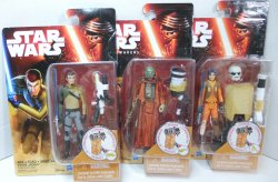 Star Wars Force Awakens Desert Mission Kanan, Ezra, Sarco Wave 2 figures