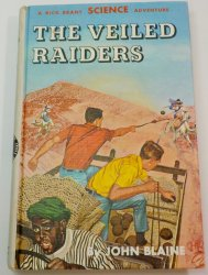 Rick Brant Science Adventures #20 The Veiled Raiders, 1965 1st print ed PC