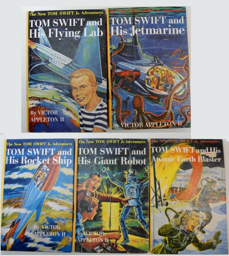 Tom Swift Jr. Adventures Books by Victor Appleton II Set of 11