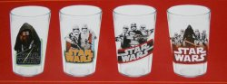'.Star Wars 8 ounce glasses.'
