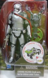 Star Wars Forest Mission Captain Phasma wave 1 Force Awakens 3.75 in figure