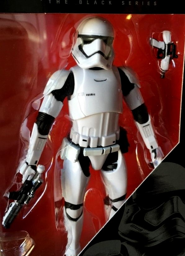 Star Wars The Force Awakens 6 inch Black Series figure
